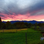Another Elmore Mountain Farm sunset